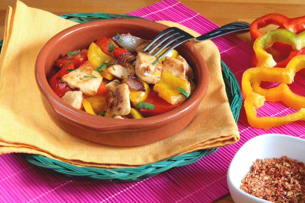 chicken meal with vegetables
