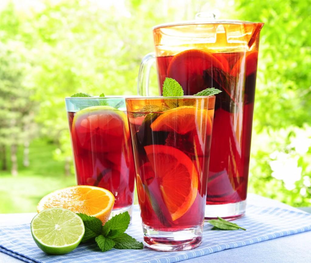 refreshing ice tea