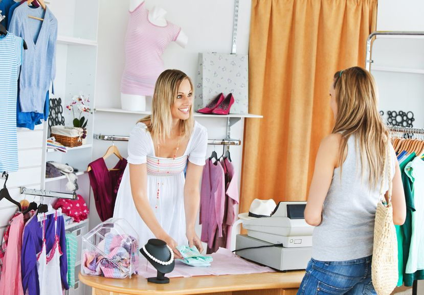 Shop for clothing when it is not in season